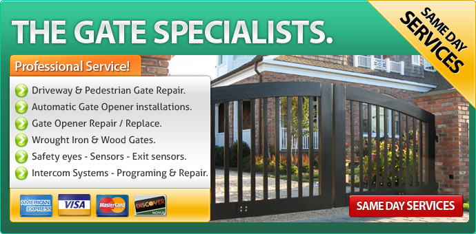 Gate repair Palm Desert CA